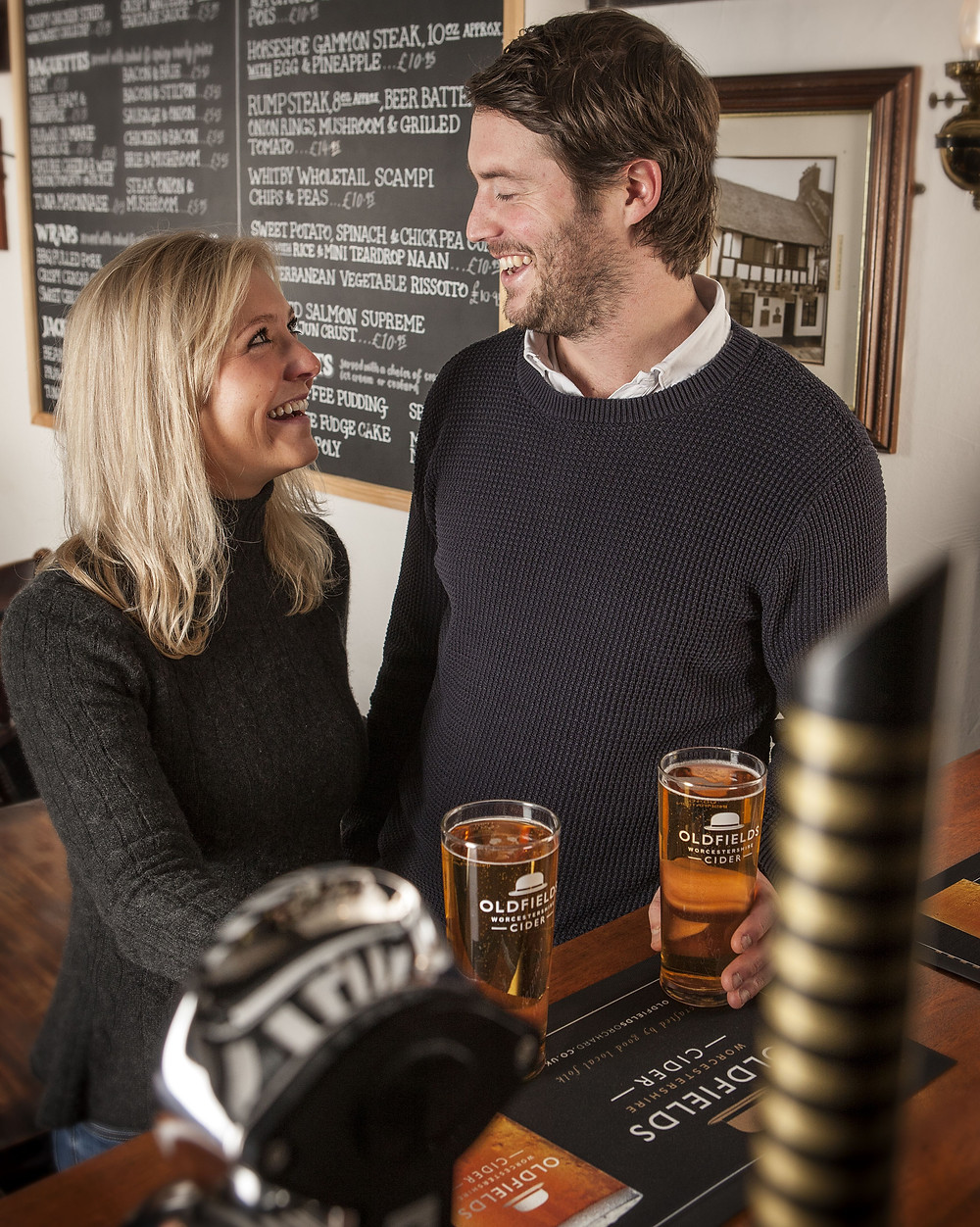 Enjoy oldfields at your local pub