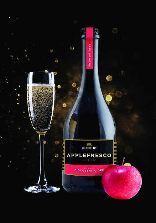 Applefresco Discovery Cider 6%, Case of 6x750ml Bottles