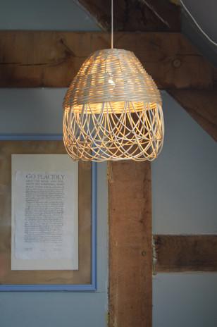 Woven willow lampshade Small Sleepy daisy lampshade
