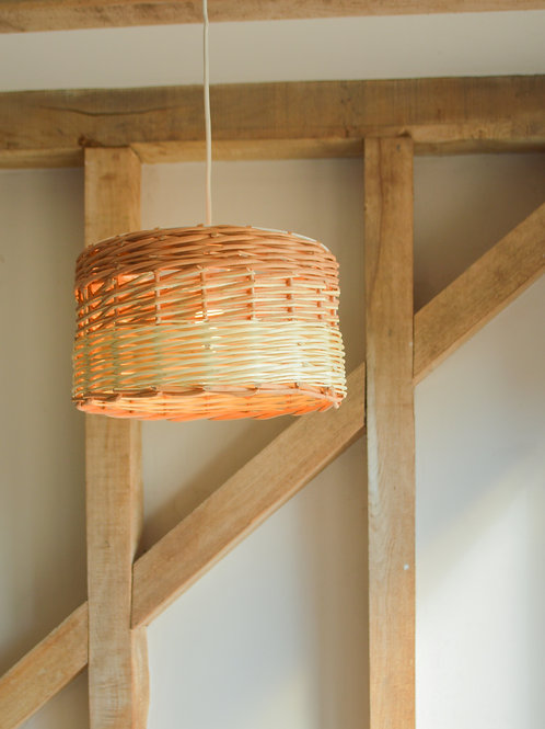 Small Willow Drum Lampshade
