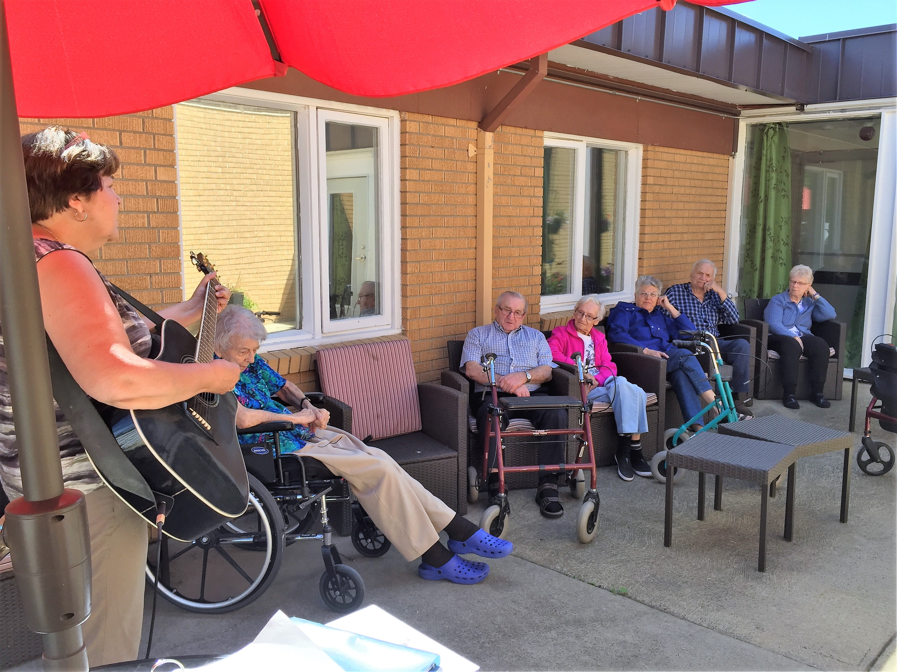 Sing-A-Long On The Patio