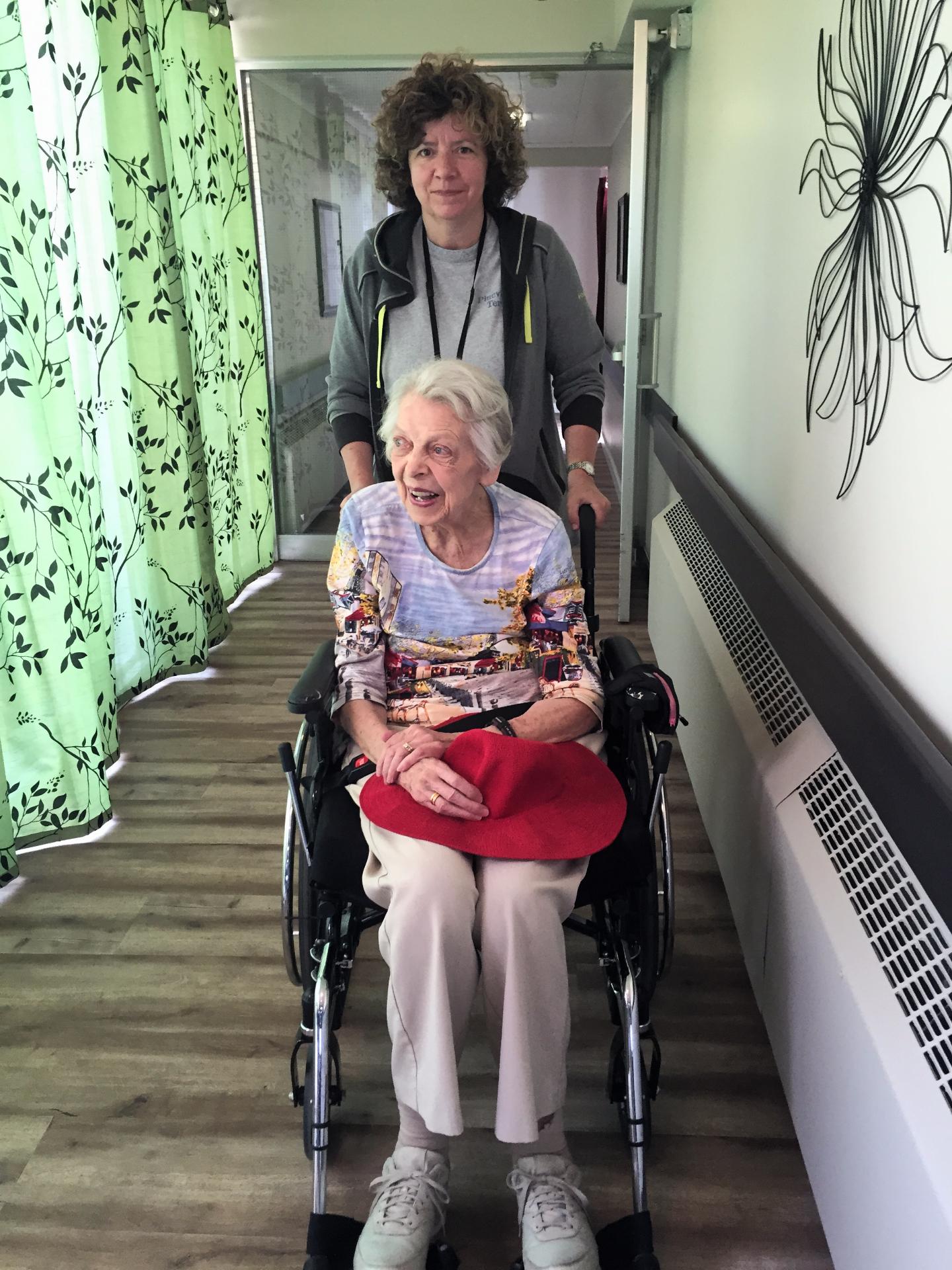 Former Residents Visiting
