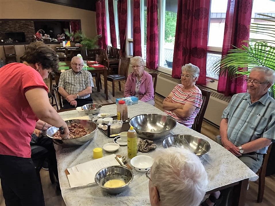 Baking Time With Our Residents