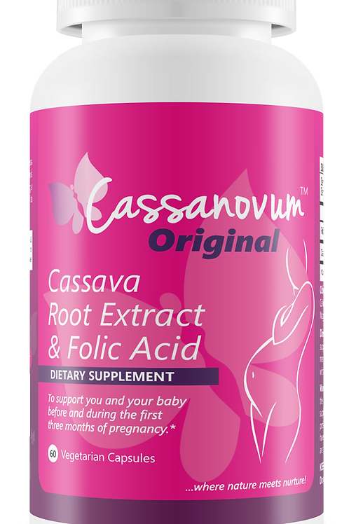 Cassanovum Original 60 Capsules (1 Bottle)