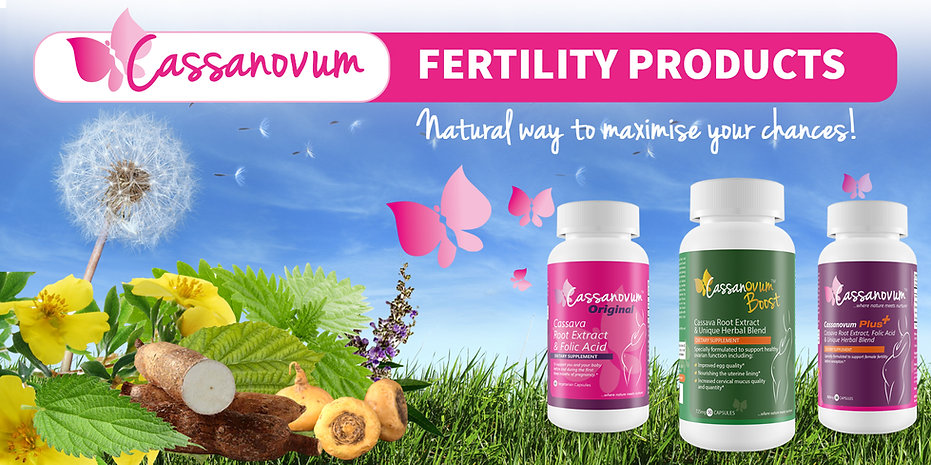 Cassanovum Fertility Products - natural way to maximise your chances to conceive