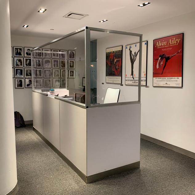 Alvin Ailey Reception Desk