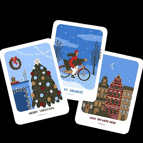 Holidays Postcards