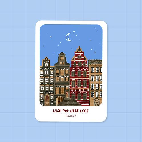 Wish You Were Here · Postcard