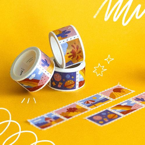 Landscapes · Stamps Washi Tape