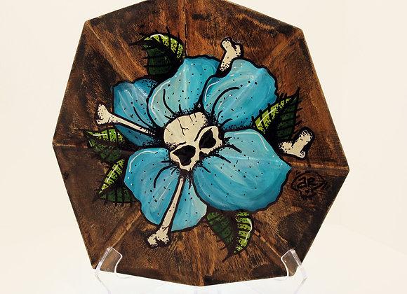 Blue Flower Shell