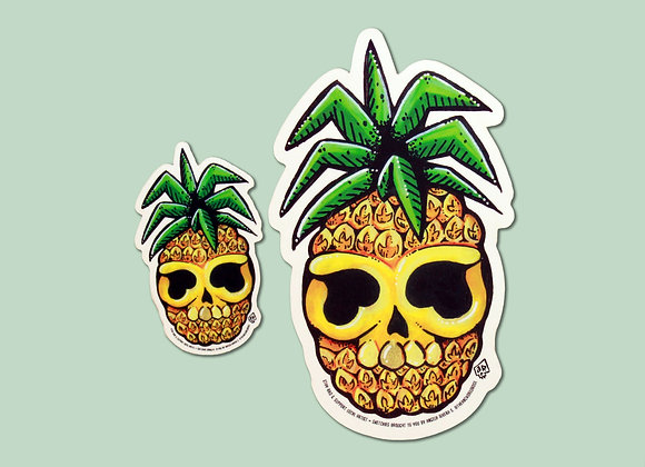 Skullapple Sticker