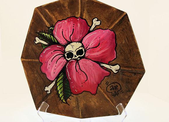 Pink Flower Shell