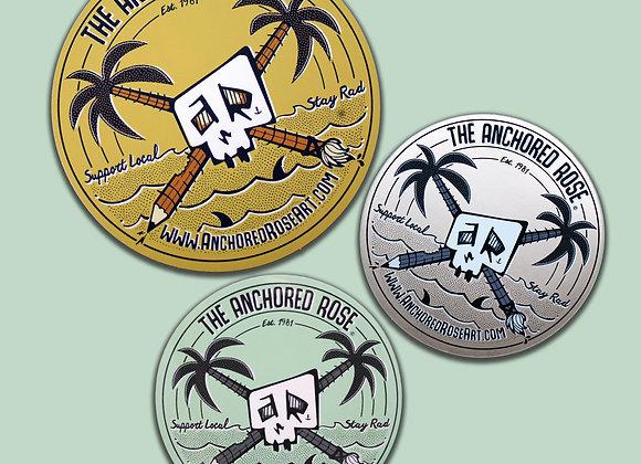 AR Logo Sticker