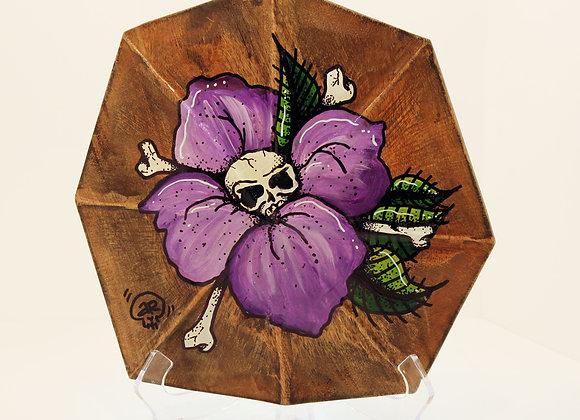 Purple Flower Shell