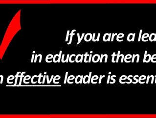 Effective Leaders in Education Get Results