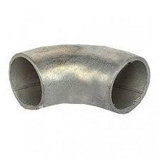 Отвод стальной шовный оцинкованный № 25