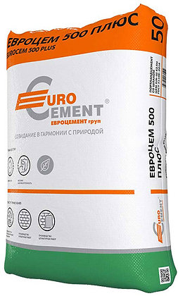 EUROCEMENT Евроцем 500 Плюс ЦЕМ II/А-Ш 42,5Н (50кг)