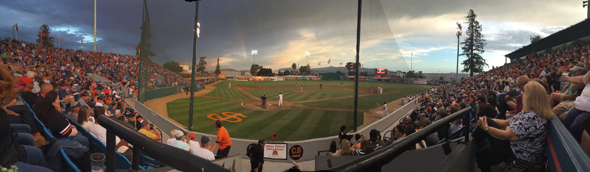 San Jose Giants Baseball Night