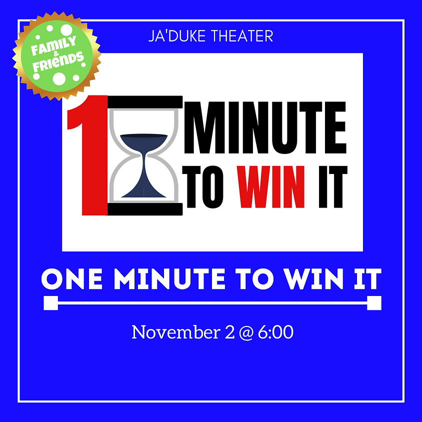 One Minute To Win It