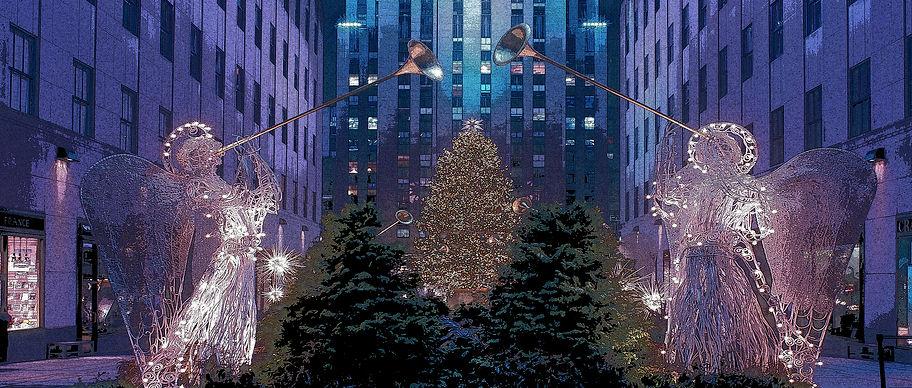 Rockefeller Plaza for Elf  preview size.