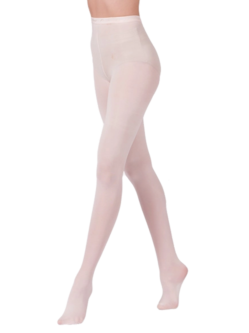 Child Pink Ballet Transition Tights