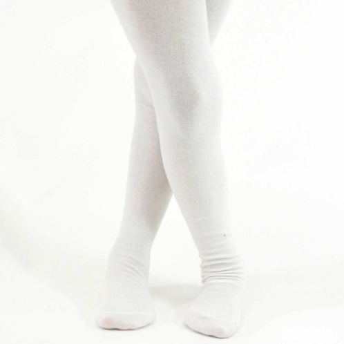 Tiny Tot White Tights