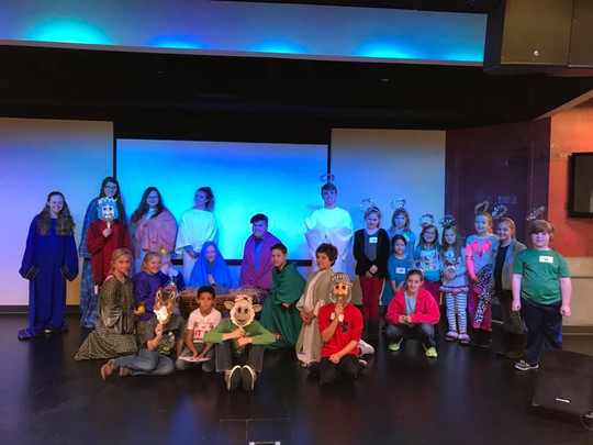 Christmas Party Student Helpers 2017