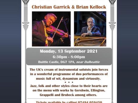 13th of September Concert of Jazz, Folk, Etc.