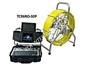 caméra video d'inspection de conduite poussé TCR