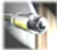 caméra vidéo rotative d'inspection