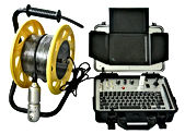caméra d'inspection vidéo rotative