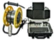 caméra d'inspection de colonne rotative TCR