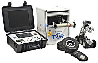 caméra d'inpection video  et diagnostique des réseaux TCR