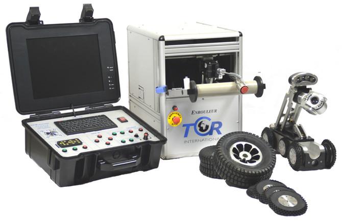 Nouvelle caméra de TCR International pour les diamètres 140 mm a 1200 mm