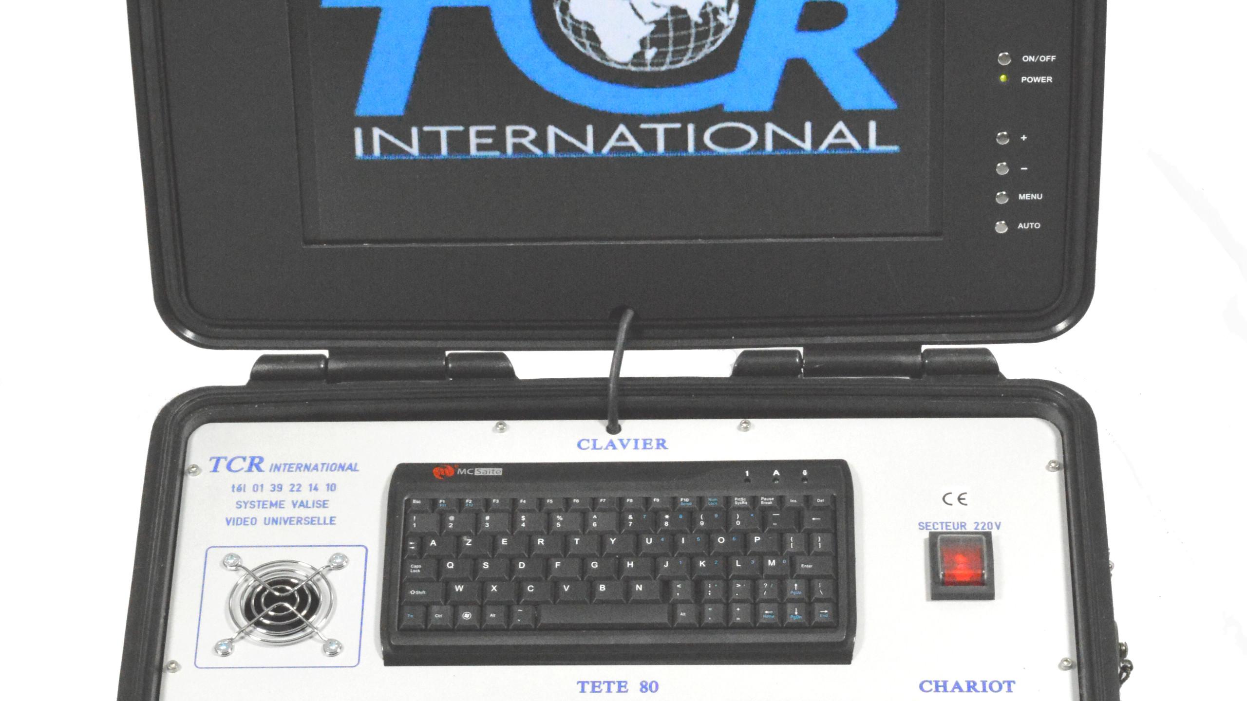 valise de commande univer tcr150 ps