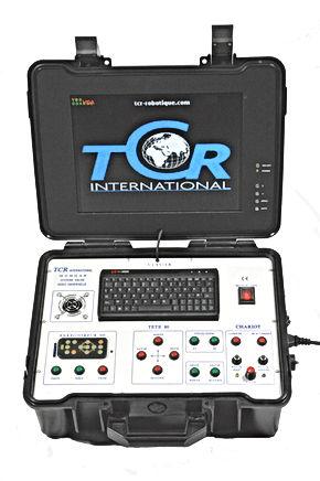 Valise de controle TCR International