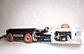 robot de réparation canalisations