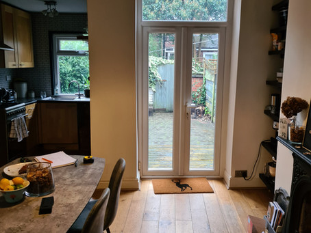 Stylish Rear Extension Completed and Looking Very Smart....