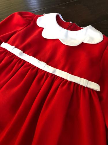 d2742efd5d906 Anavini Christmas Red Bow Dress