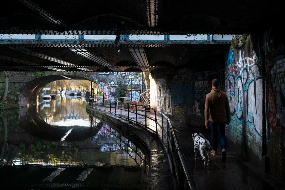 Walking the Dog, Regent's Canal.