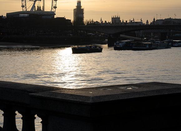 London Eye, London.  A4 Print.