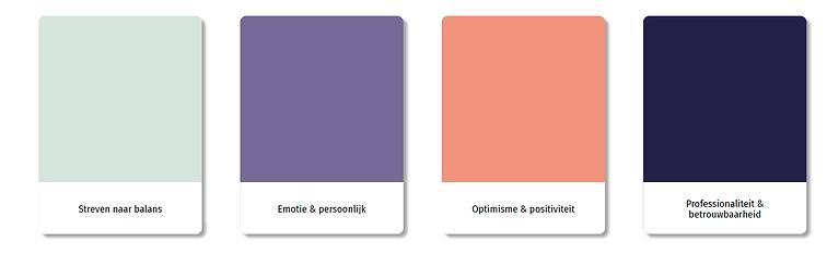 Creatief Concept Kleuren Samenspraak