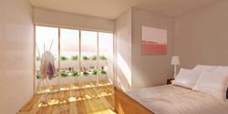 slaapkamer impressie