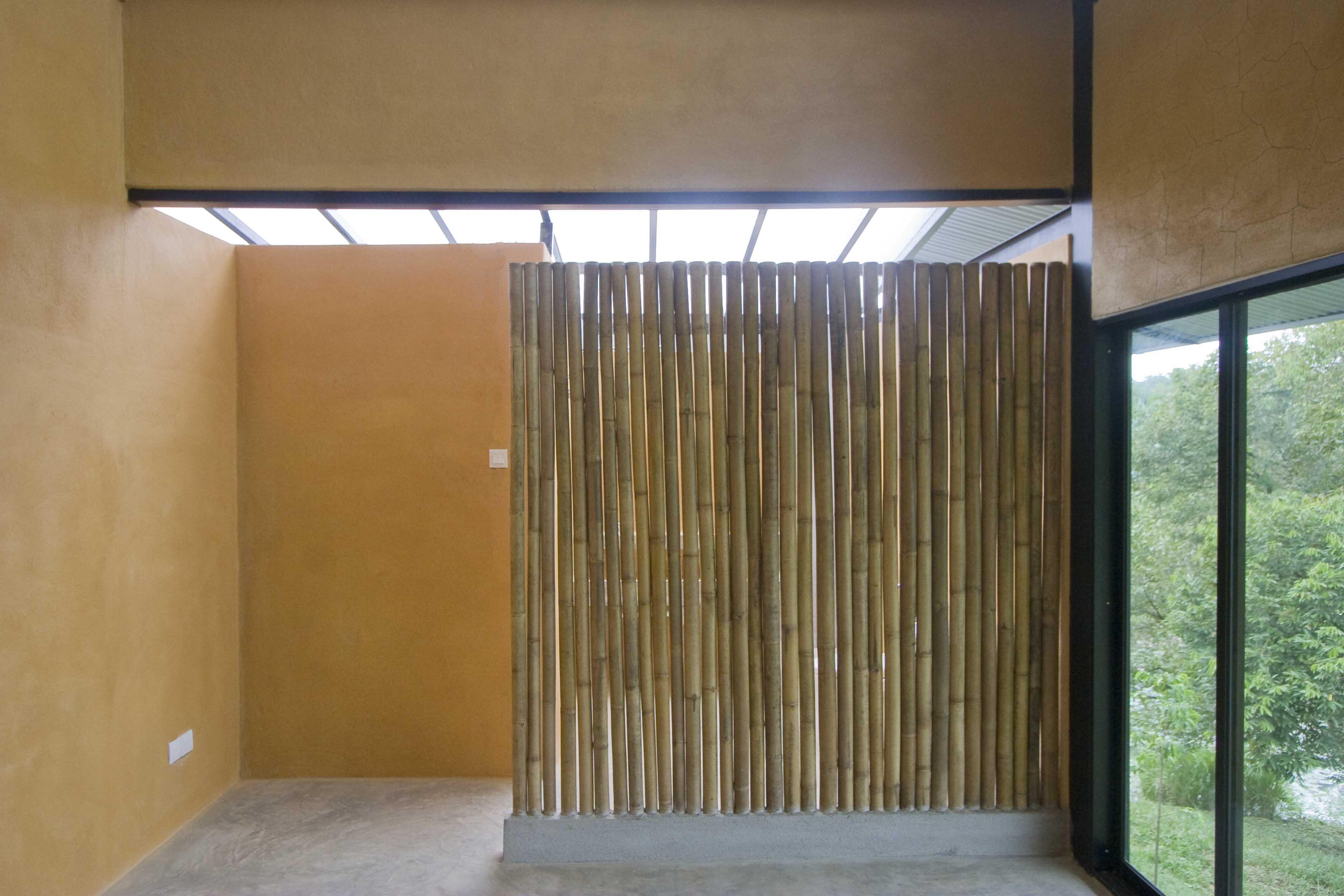 bamboe afscheiding