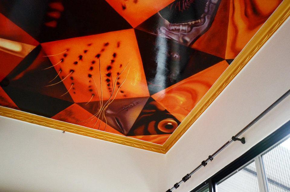 'dali's room' plafond