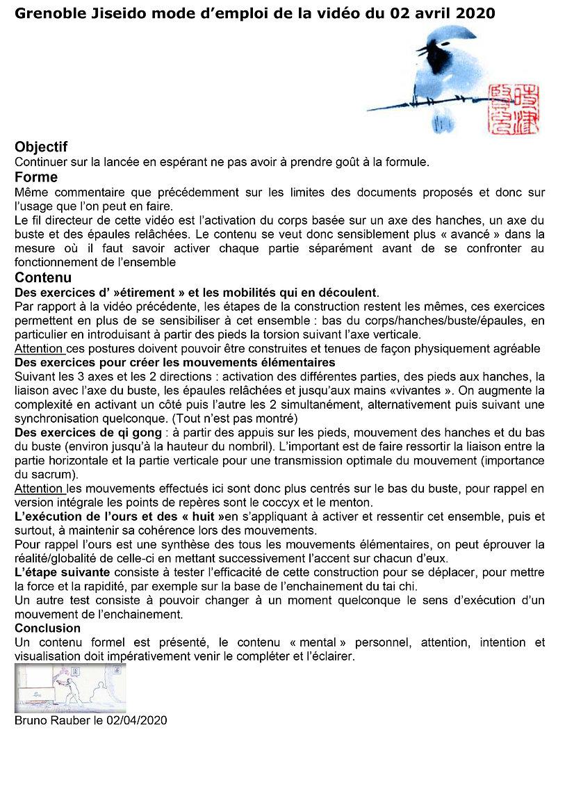 Grenoble Jiseido commentaire videoavril2