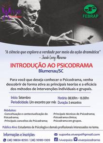 INTRODUÇÃO AO PSICODRAMA