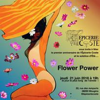 Flower Power pour le premier anniversaire 21 juin 2018