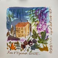Cyril Destrade dessine l Epicerie Coste