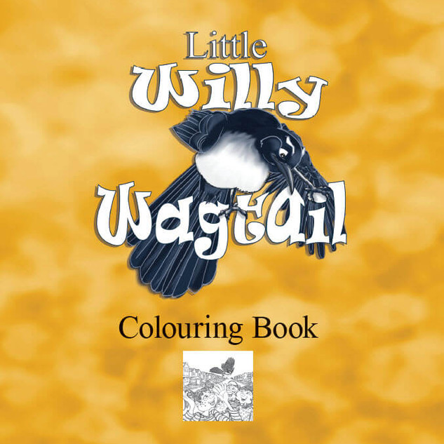 Little Willy Wagtail Colouring Book
